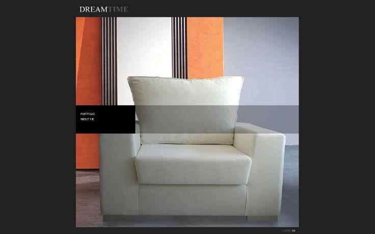 dreamtime furniture web page design
