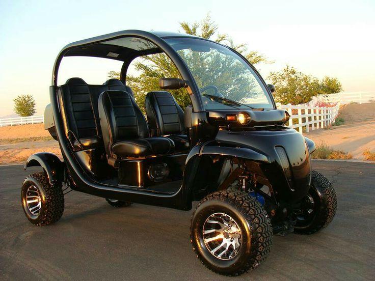 Black beauty custom Gem car by Innovation Motorsports.