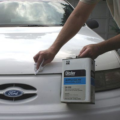 How To Repair Car Paint Chips