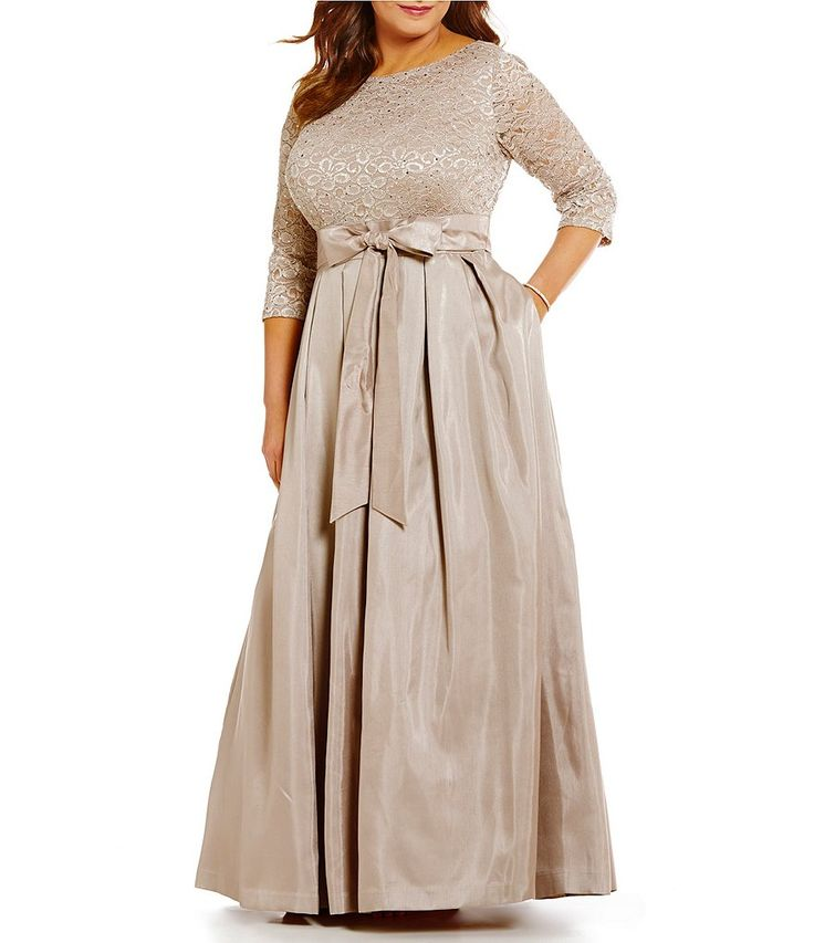 plus size dress at dillards registry