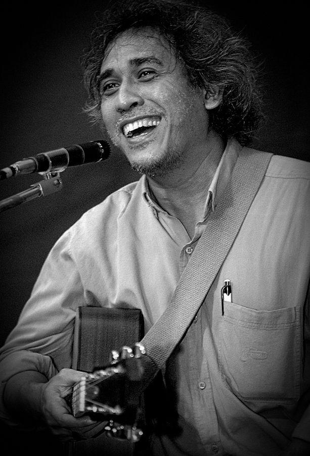 Indonesian legendary musician, Iwan fals