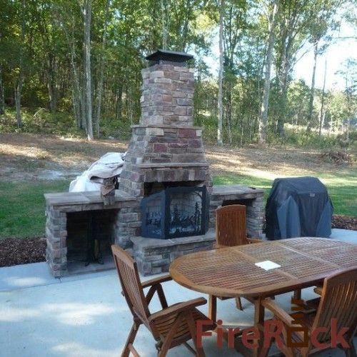 10 best images about fireplace on Pinterest | In pictures ... on Building Your Own Outdoor Fireplace id=43623