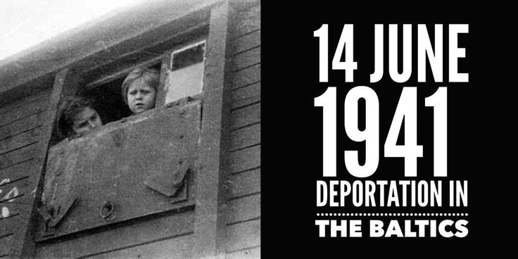 14 June 1941. June Deportations of Estonians, Latvians and Lithuanians to Siberia begins