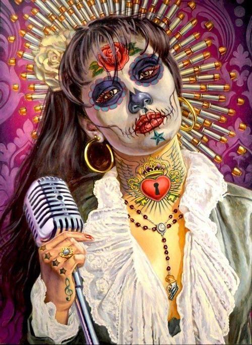 Selena Quintanilla Signature Tattoo