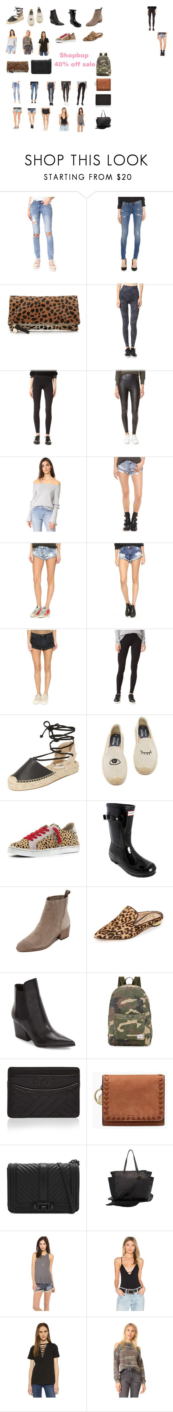 shopbop 40% off sale by chris-n-court-carnes on Polyvore featuring After Market, Z Supply, Glamorous, Free People, Splendid, OneTeaspoon, SPANX, Blank Denim, Dolce Vita and Soludos