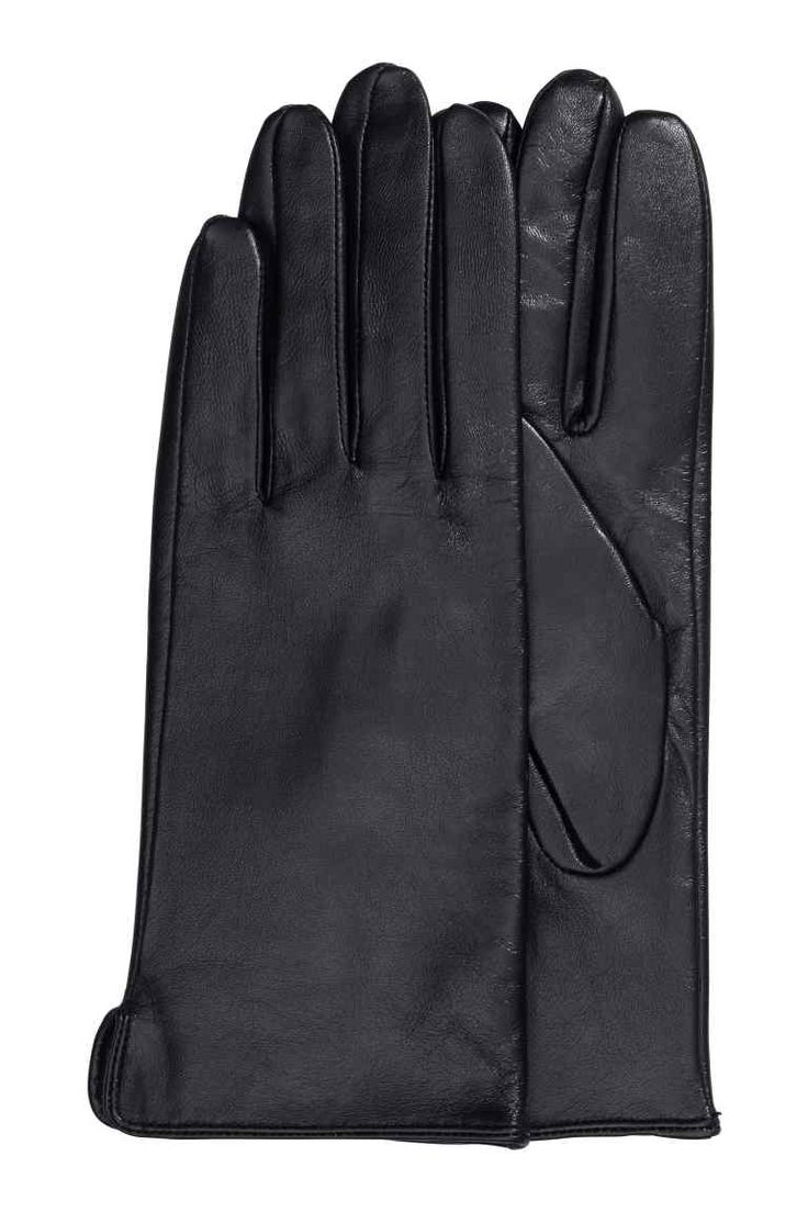 John lewis ladies black leather gloves - Gants En Cuir Women S Glovesleather