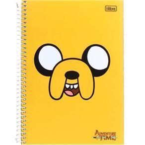 Caderno Universitário Tilibra Adventure Time 10 Matérias Jake 142361 - 200 Folhas - Cadernos no Extra.com.br:
