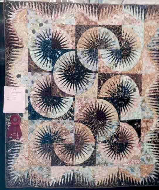 Japanese Fan, Quiltworx.com, Made by Linda Mathis.