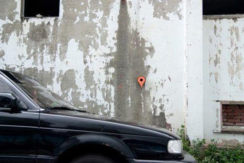 Google Maps Inspired Birdhouse Tells Birds Where Home Is Photo