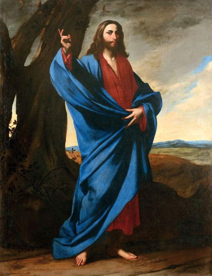 христос в картинах художников