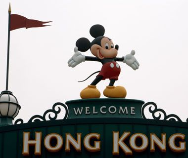 No. 45 Hong Kong Disneyland    Annual Visitors: 5,200,000