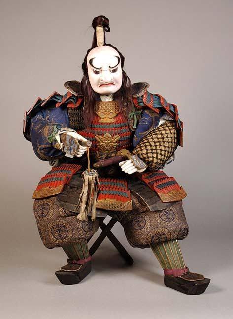 Aramusha-ningyo (Rough Warrior) doll for the Boy's Day. Edo Period, 19th Century