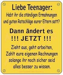 Liebe Teenager....