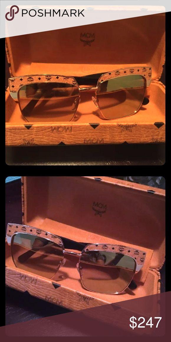 MCM DesiGner SUNGLASSES printed mirrored Brand new in box MCM Accessories Sunglasses