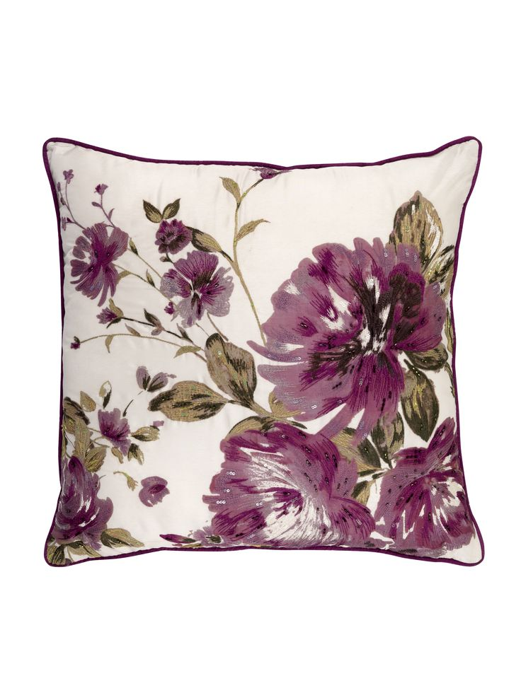 A stunning tapestry-effect cushion that will go with others in similar tones or sit happily on a chair of its own. Priced at £15.