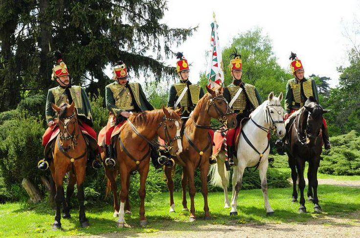 Huszárok / Solders on horses