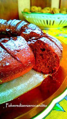 Polvere Di Zenzero Candito: Ciambella con farina di castagne e olio d'oliva