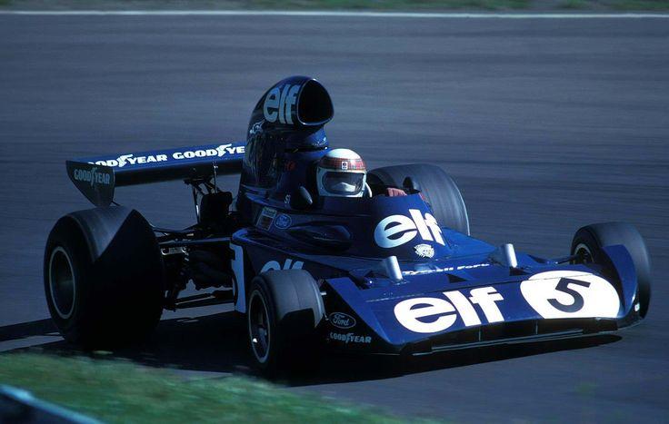 1973 Elf Team Tyrrell Jackie Stewart Jackie Stewart
