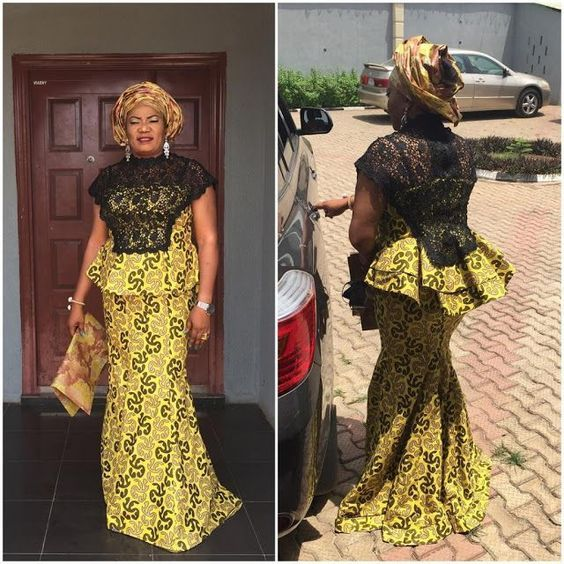 Nigerian Dresses Designs for Ladie and for Events