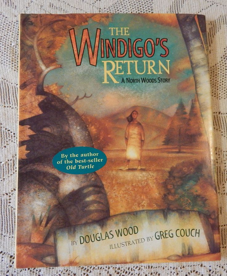 1996 The Windigo's Return: A North Woods Story First Edition, by Douglas Wood, Illustrated by Greg Couch, Published by Simon & Schuster by InGrammasAttic on Etsy