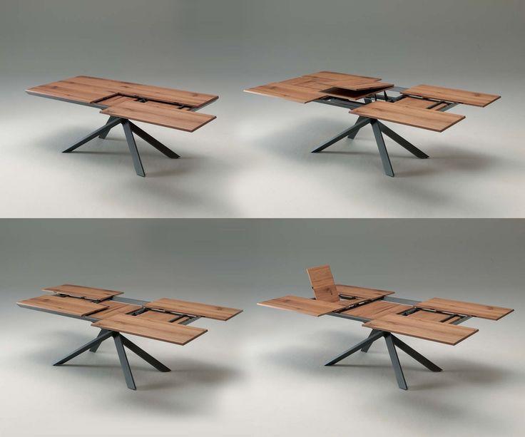ber ideen zu ausziehbarer tisch auf pinterest. Black Bedroom Furniture Sets. Home Design Ideas