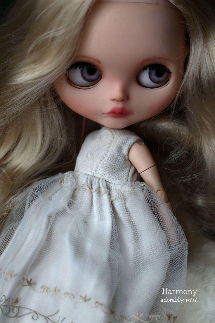 OOAK Custom Blythe Doll 36 Harmony ♥ by AdorablyMini