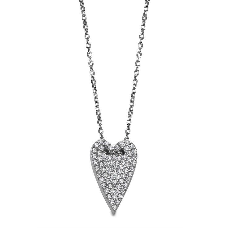 Scarlett - srebrny naszyjnik (ANCV015 - 27546) - YES