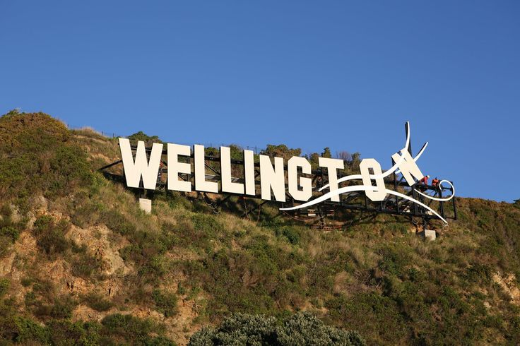 wellington sign!