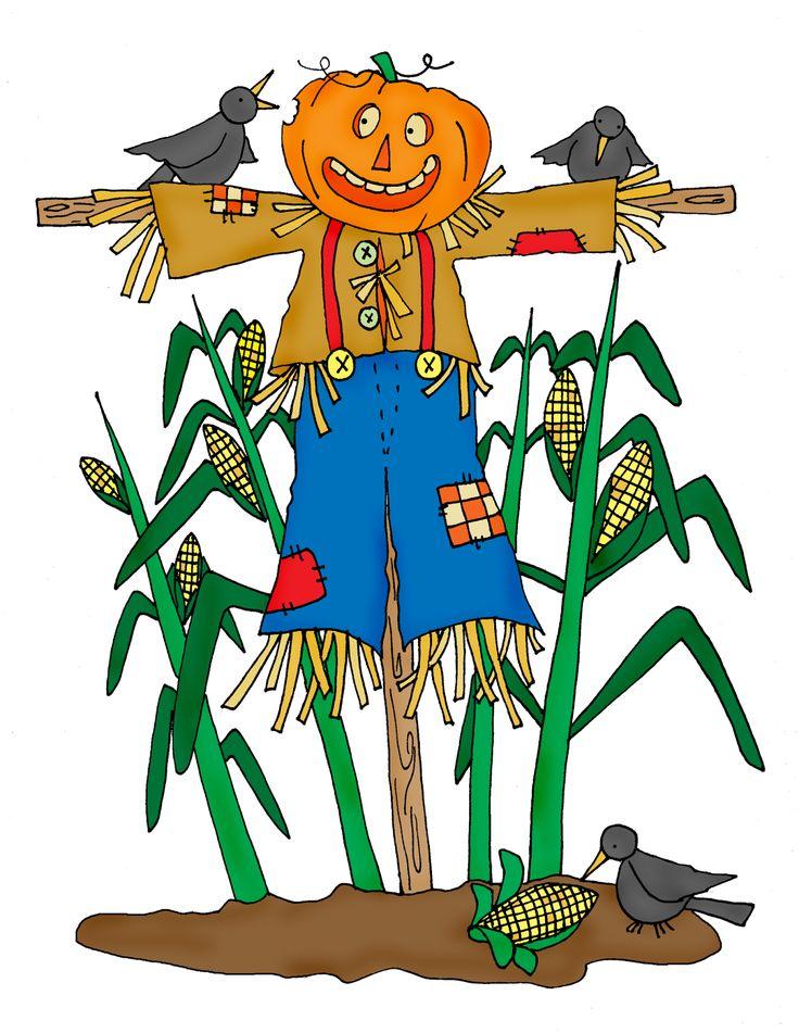 Free Dearie Dolls Digi Stamps: Cornfield Scarecrow | Digi ...