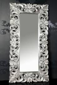 Afbeeldingsresultaat voor barok spiegel zilver