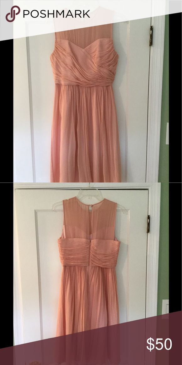 J Crew Bridesmaid Dress Size 6 J Crew short brides maid dress. Extremely feminine and cute on. Dusty rose. Dry cleaned. J. Crew Dresses Wedding