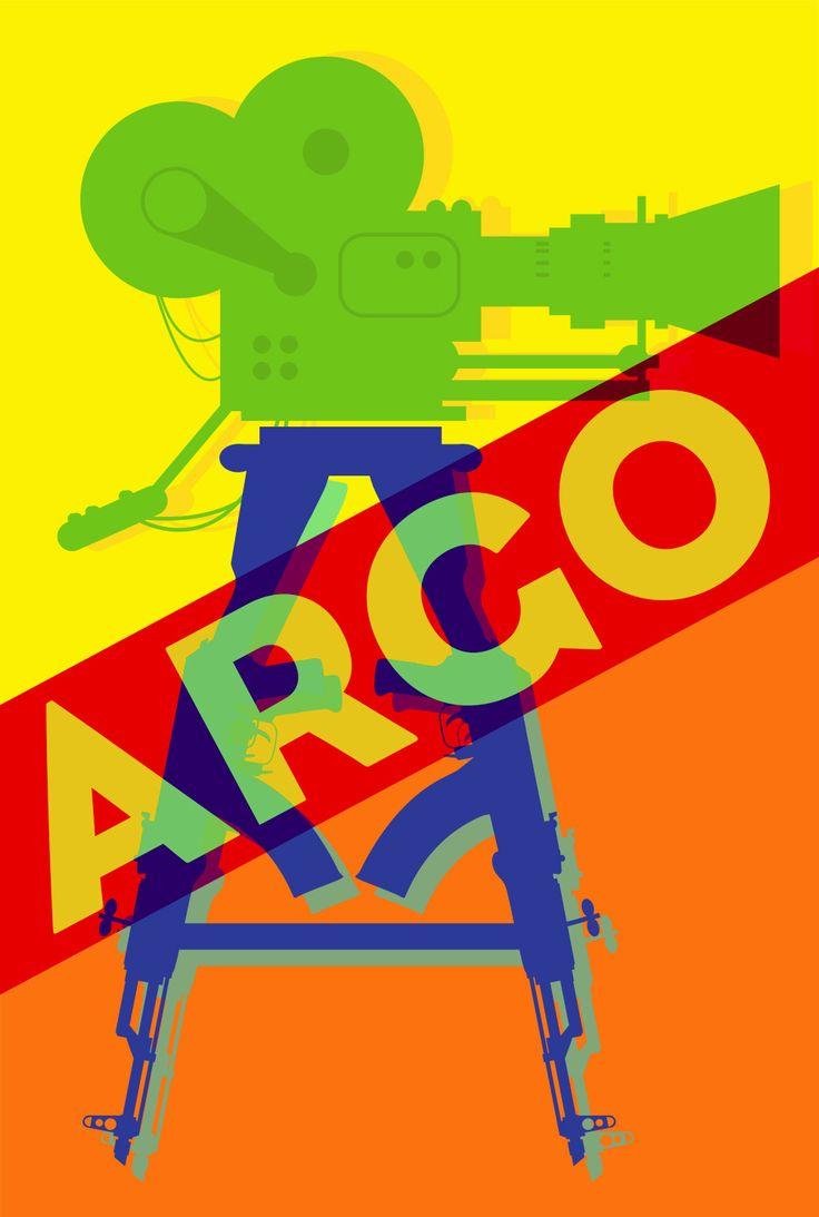 Argo X Andy Warhol     Oscar Pop! The 2013 Best Picture Nominees as Pop Art Posters {Shutterstock}
