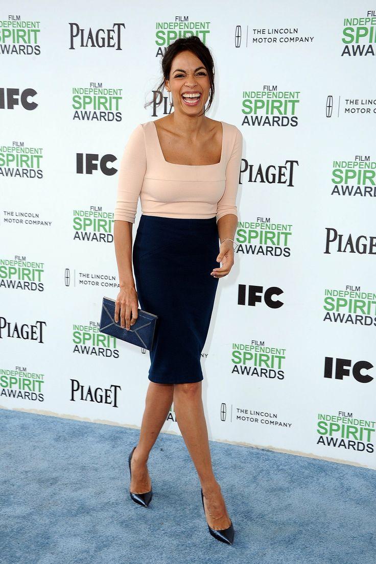 Rosario Dawson at the Spirit Awards