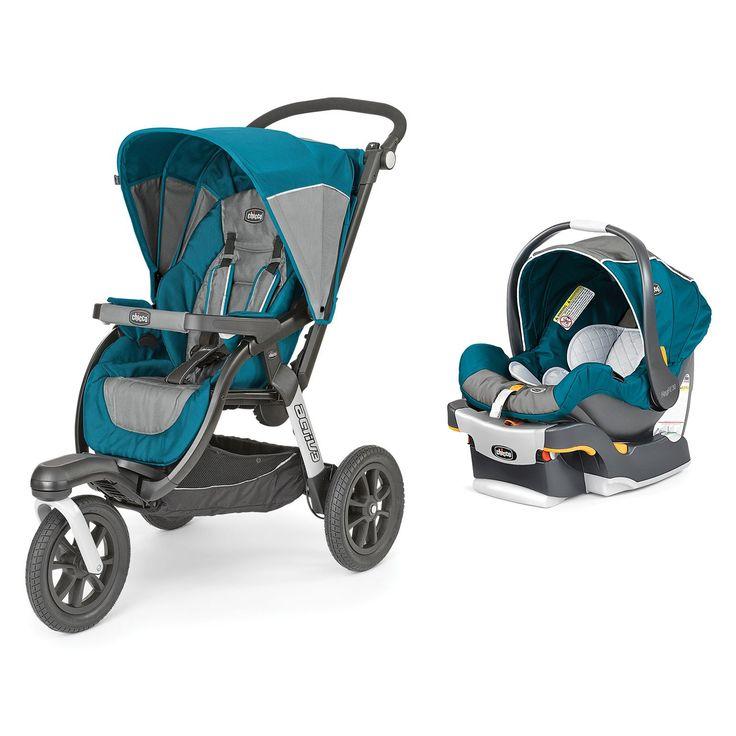 Chicco Activ3 Jogging Stroller + KeyFit 30 Magic Infant