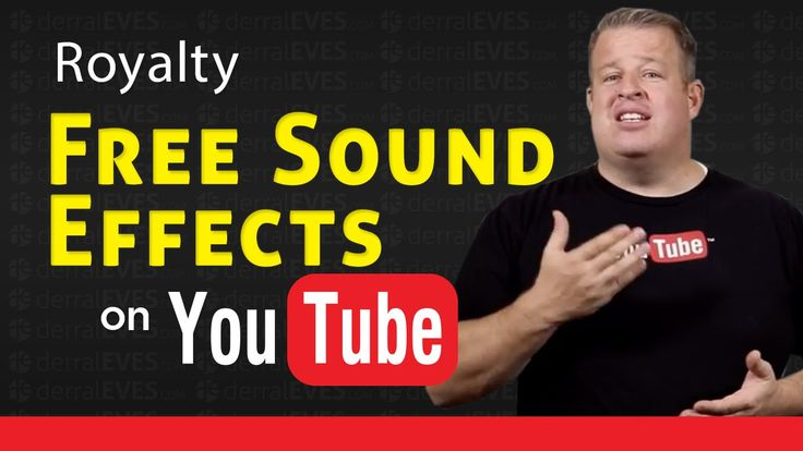 FREE - Royalty Free Sound Effects for Your YouTube Videos