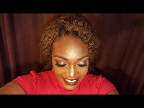 Holiday Glam Using Morphes Brushes 35W Palette - YouTube