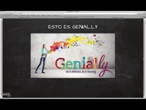 Video-Tutorial de uso de genial.ly