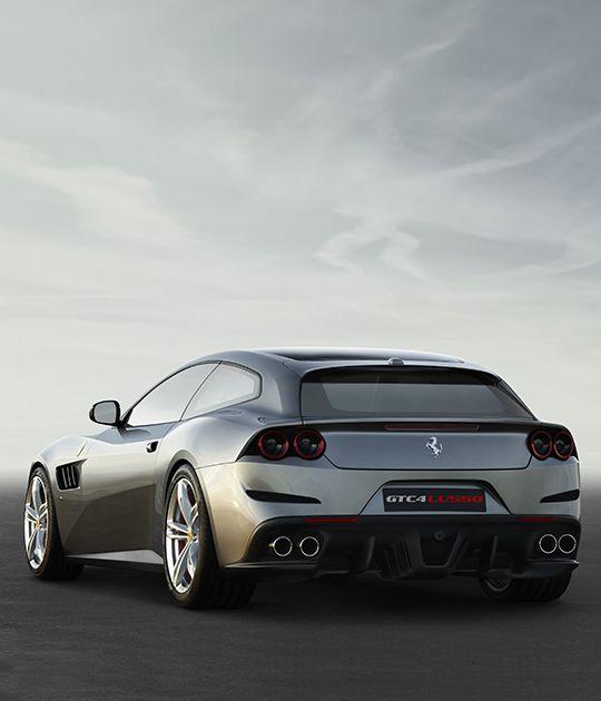 Arrière de la Ferrari GTC4Lusso