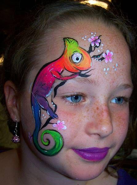 17 besten kinderschminken bilder auf pinterest  bemalte