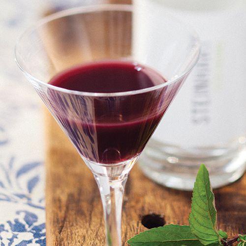 Haskap martini