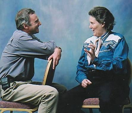 We hosted them both here.  Proud to have brought these talents to Binghamton NY. Tony Attwood Interviews Temple Grandin..1999 but well worth the read.