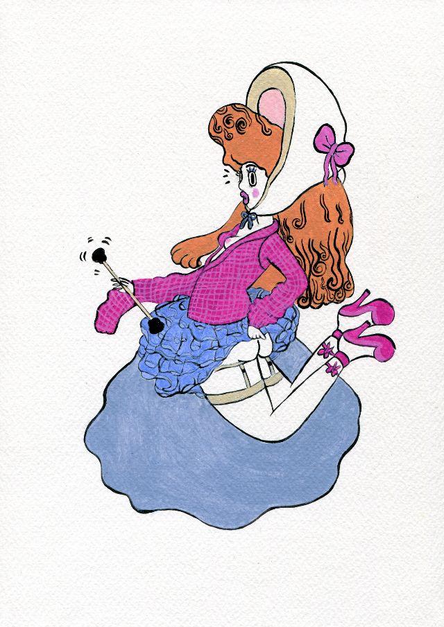 illustration by DONYA TODD, illustrator represented by OWL Illustration agency www.owlillustration.com