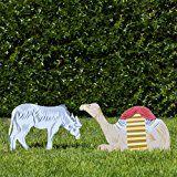 Outdoor Nativity Store Classic Outdoor Nativity Set - Donkey and Camel Scene