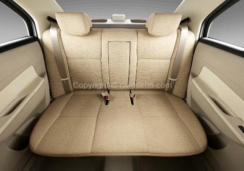 Maruti Swift Dzire Rear Seat Interior - http://www.cardekho.com/interior-pictures/maruti-swift-dzire/rear-seats-52.htm