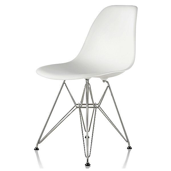 Eames Molded Plastic Side Chair Wire Base In 2020 Wire Chair Midcentury Modern Side Chairs