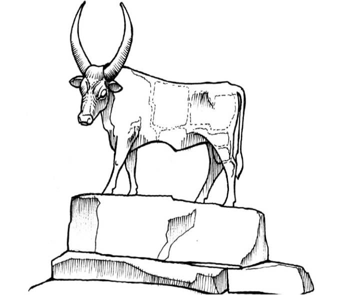Calf Bible CraftsSunday School KidsTen CommandmentsKids BibleColoring PagesCalvesJournalingKindergartenNurseries
