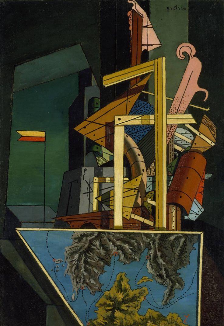 Giorgio de Chirico 'The Melancholy of Departure', 1916