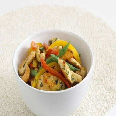 Thai Chicken and Vegetable Stir Fry