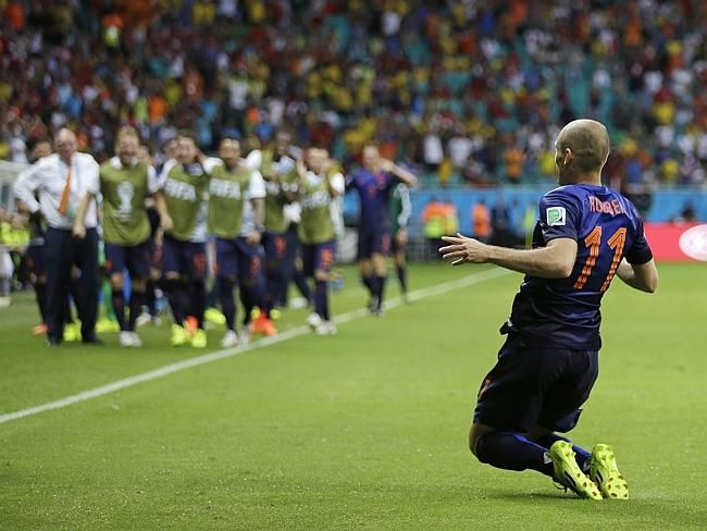 Netherlands Gives Spain a 5-1 Thrashing In World Cup - Spurs