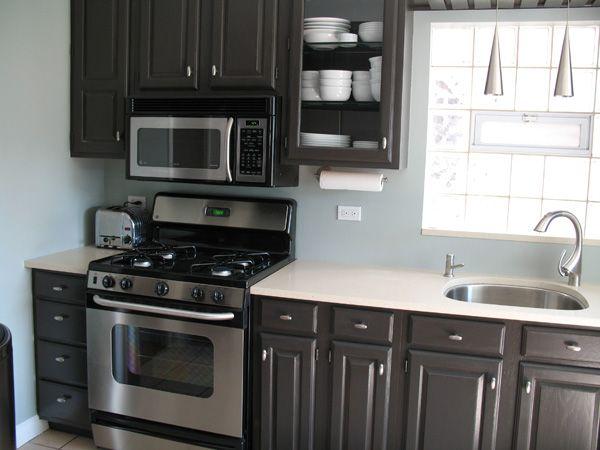 best 20+ brown painted cabinets ideas on pinterest | dark kitchen